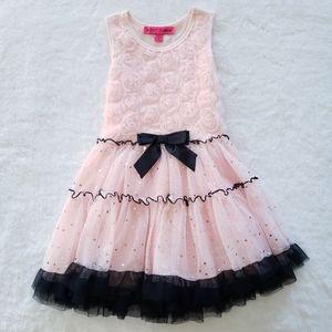 ⚡SALE⚡Betsey Johnson - Girls (5/6Y) 3D Rose Dress